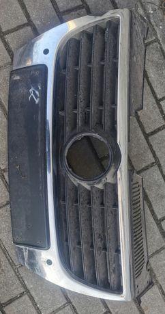 Grill Passat b6 chrom z pdc z miejscem na czujniki parkowania
