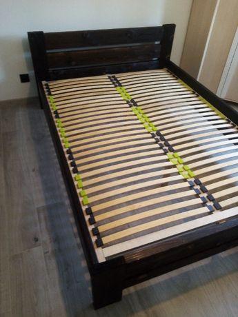 Łóżko Stelaż Naturalne drewno