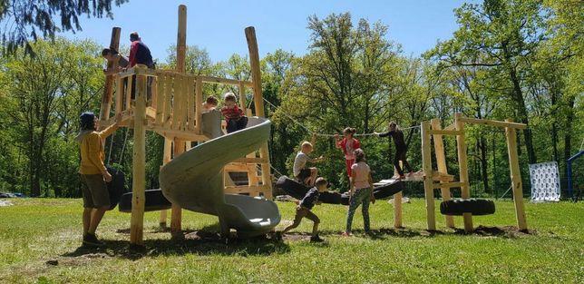 Детские площадки. Игровые д омики. Реальные проекты