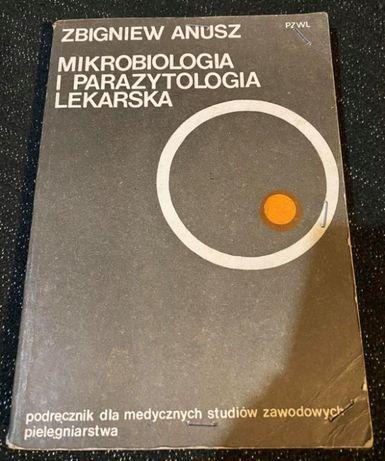 """Książka """"Mikrobiologia i parazytologia lekarska"""" Zbigniew Anusz"""