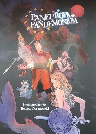 Komiks - Paneuropa vs Pandemonium