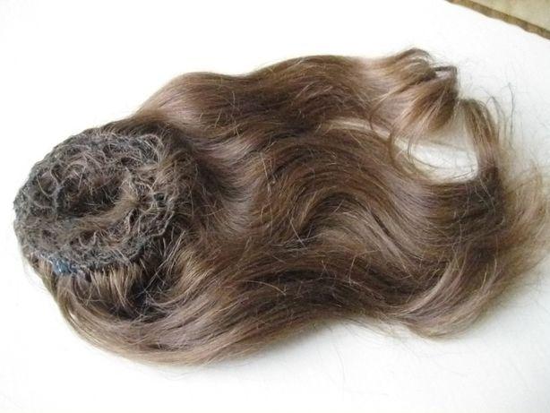 волосы натуральные 62гр