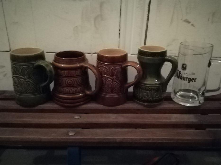 Szklane i ceramiczne kufle Żagań - image 1