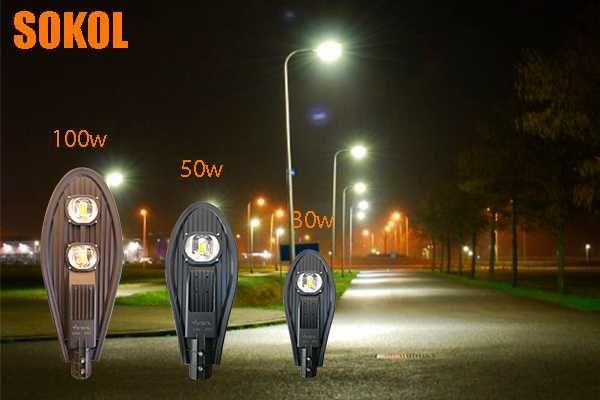 Столбовые LED прожекторы (Sokol)