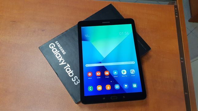 "Tablet Samsung Galaxy Tab S3 9.7"" LTE T825 32GB czarny, komplet"
