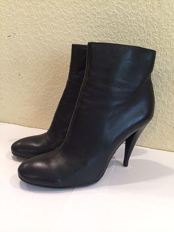 Ботинки осенние женские 39р, натуральная кожа.