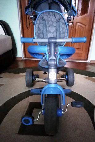 Трехколесный велосипед Y Strolly Compact с ручкой для мамы