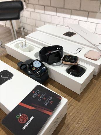  Apple Watch Series 5 GPS Aluminum 40\44mm  в наявності gold/gray
