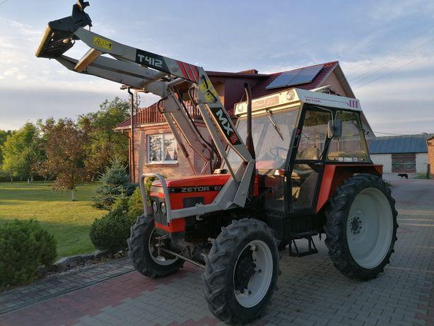 Zetor 6245 zetor 5245 Finn 7245 ładowacz mx lubelskie transport