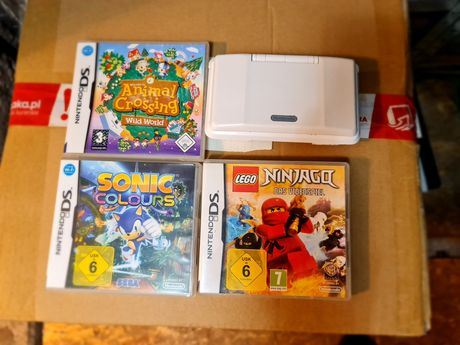 Nintendo DS White Sonic Colours Lego Ninjago Animal crossing