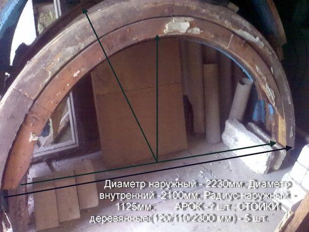 Продаю комплект наборных деревянных арок со стойками