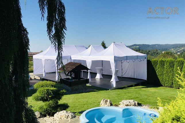Wynajem namiotów stołów krzeseł Ślub Komunia KRAKÓW ZIELONKI
