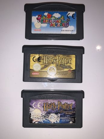 GRY gameboy advance sp harry potter, super mario