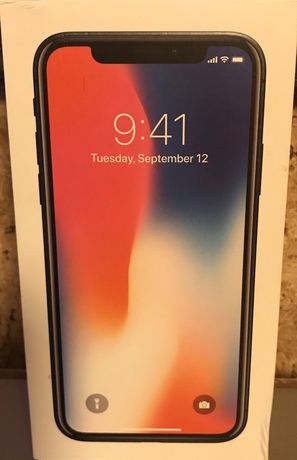 iPhone x 256 space gray