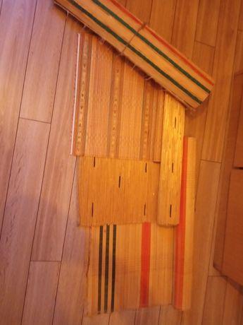 Sprzedam dywan kilim na ścianę słomiane stare antyk rustykalne hit