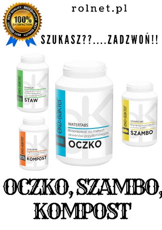 Tabletki biologiczne, EKO BAKTER -OCZKO WODNE 48 szt.