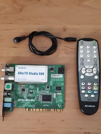 ТВ-тюнер для ПК AVerTV Studio 509 AverMedia слот PCI