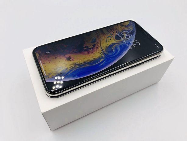 JAK NOWY • iPhone XS 64GB Silver • GWARANCJA 1 MSC • AppleCentrum