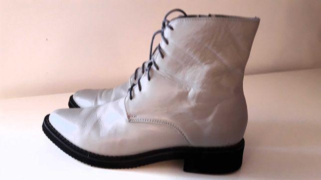 Buty skórzane rozm. 39