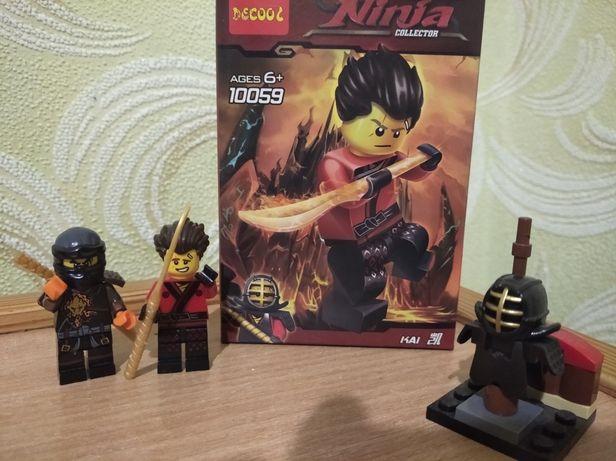 Лего Ниндзяго Коул и Кай
