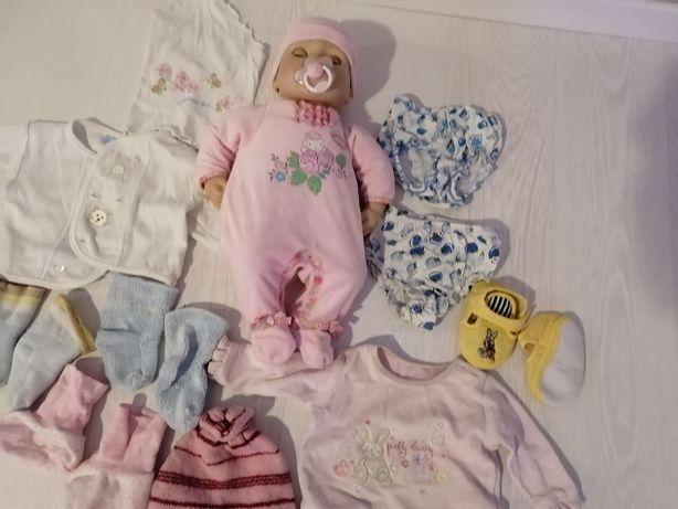 Lalka Baby Annabell z wózkiem i łóżeczkiem