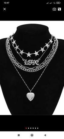 Ожерелье-чокер для мужчин и женщин, в готическом стиле в наличии