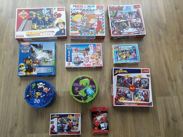 Puzzle i gry dla dzieci