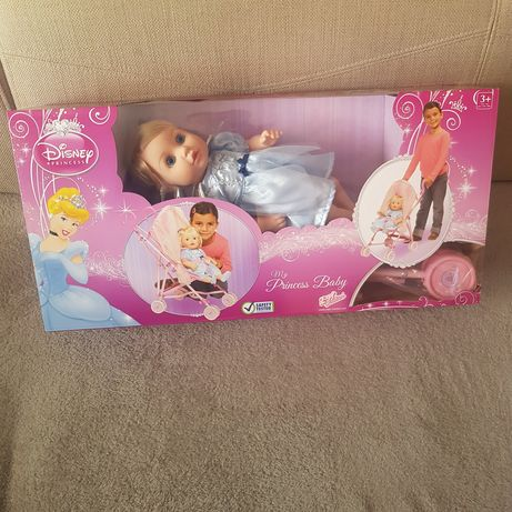 Lalka z wózkiem My Princess Baby