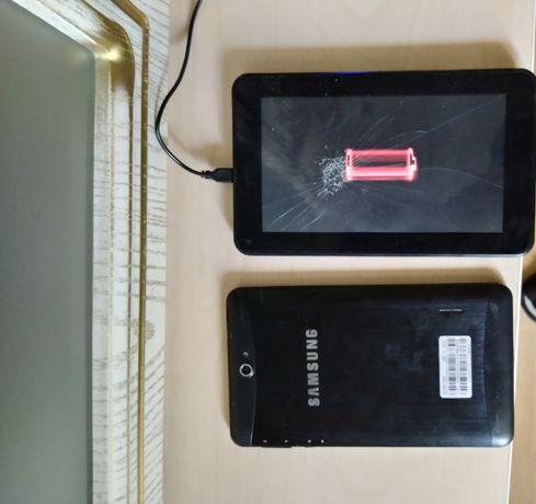 Продам 2 планшета Prestigio і samsung на запчасті чи під ремонт