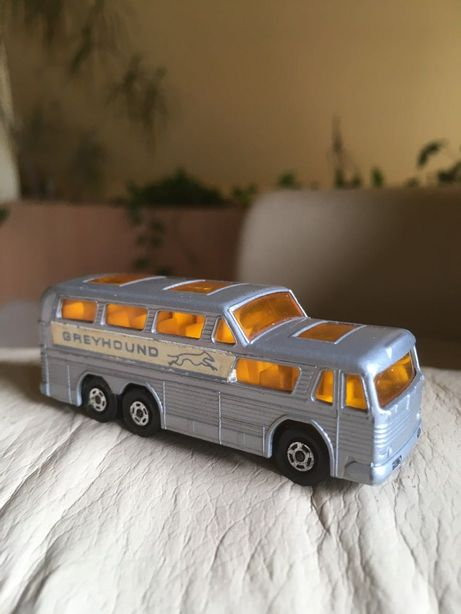 Auto Model Matchbox Lesney Greyhound Coach No 66 1970 rok vintage bdb