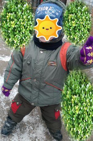 Зимняя куртка курточка рост 92 см 3-5 лет