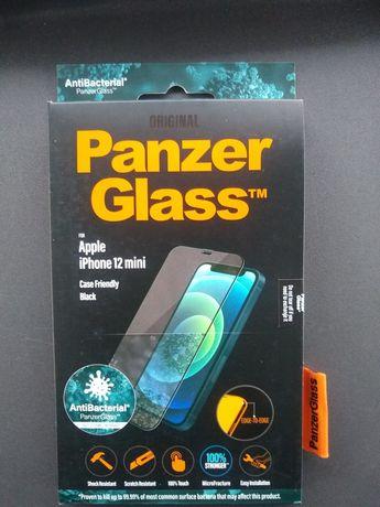 Szkło Panzer Glass iPhone 12 Mini ANTIBACTERIAL