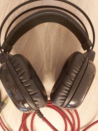 Słuchawki gamingowe z mikrofonem