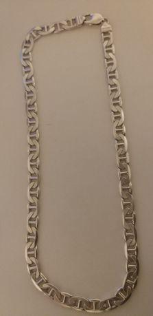 Srebrny łańcuszek szer. 1cm