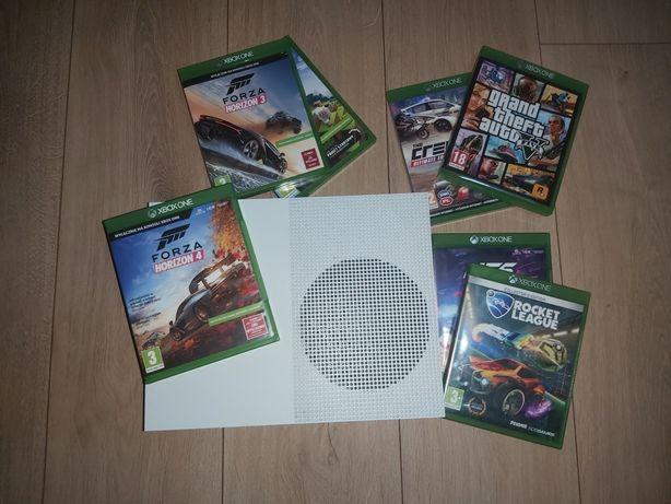 Xbox one s 1Tb z padem + 6gier