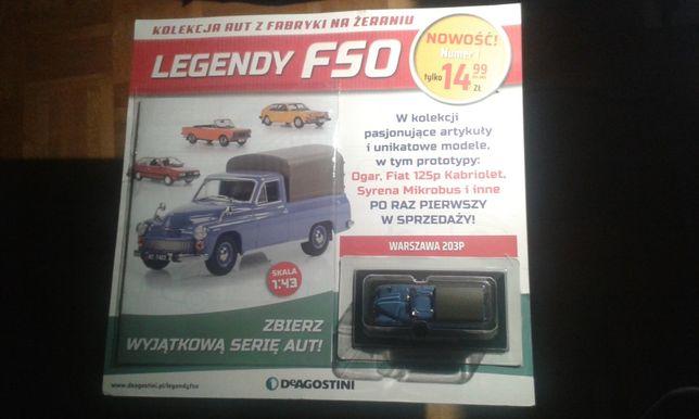 Legendy FSO nr 1 - Warszawa 203P - Nowa