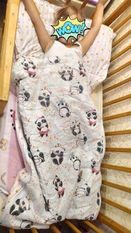 Постельное белье 3в1, слипик, спальный мешок