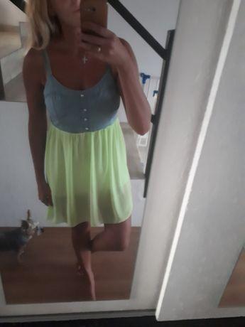 Sukienka neon, rozm S