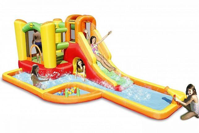 Dmuchane centrum zabaw park wodny zamek dmuchaniec plac zabaw