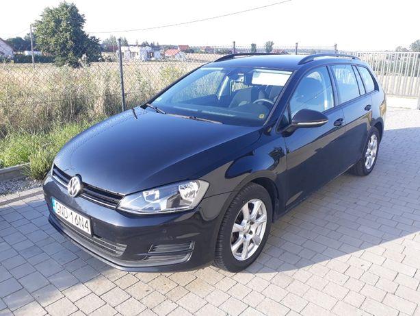 VW GOLF VII 1.6 TDI-CR 2016r. zadbany Średnie zużycie paliwa 4l/100km