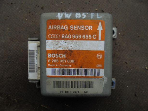 VW PASSAT B5 FL - kompletny sensor AIRBAG, ... 655 C.