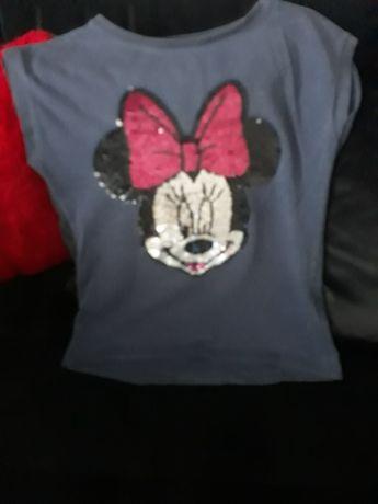 Fajne koszulki dla dziewczynki 134
