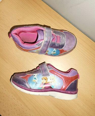 Adidasy Elza i Anna r. 27 buty sportowe na rzepy fioletowo różowe Froz