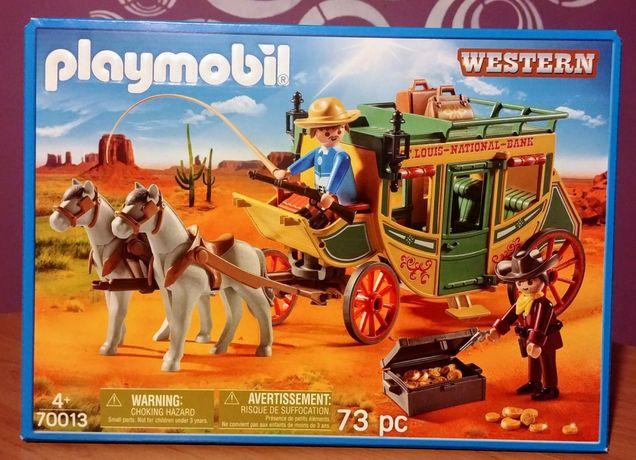 Playmobil 70013 Dyliżans pocztowy western nowość