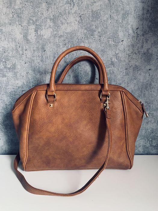 Brązowa torba kuferek H&M Tczew - image 1
