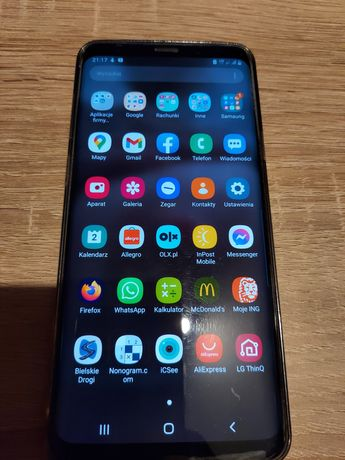 Samsung galaxy s9+ plus dual sim 64gb