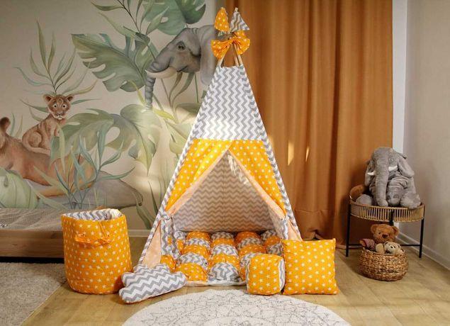 Палатка вигвам, детский игровой домик. В наличии разные расцветки.