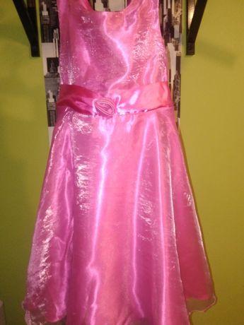 sukienka balowa firmy TU 128 rozmiar