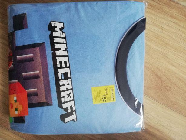 Piżama Minecraft r 152 długi rękaw. Nowy wzór!