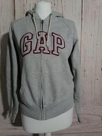 Bluza sportowa rozpinana z kapturem bawełna GAP M